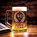 Kufel do piwa z grawerem - wzór z katalogu grafik