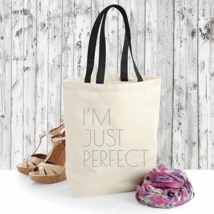 Just perfect - torba bawełniana na zakupy