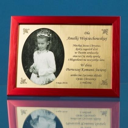 Pamiątka Pierwszej Komunii Świętej dla dziewczynki