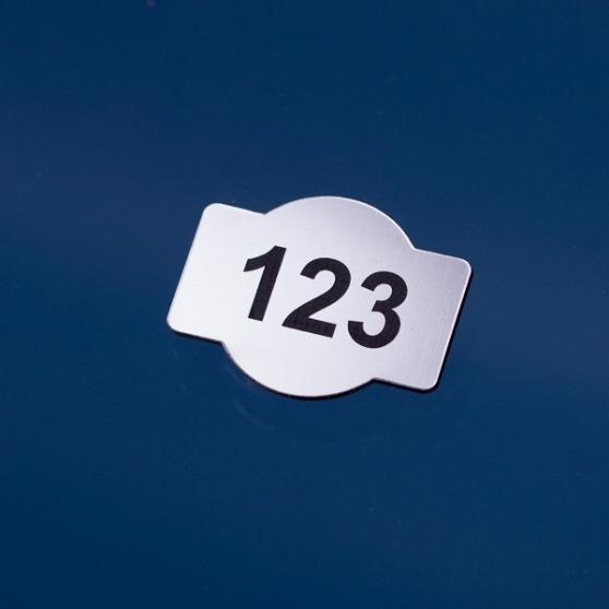 Grawerowany numerek do szatni
