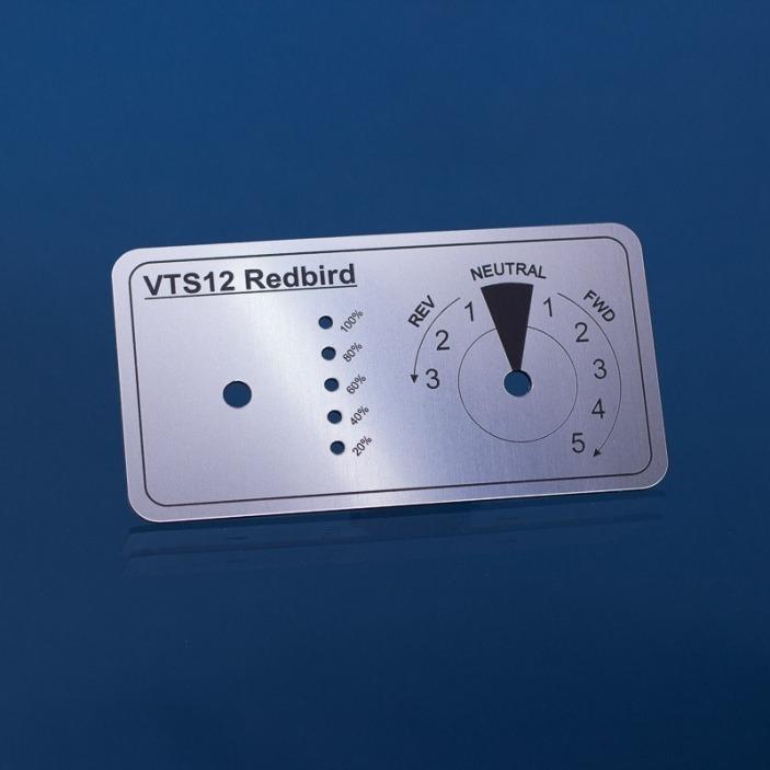 Tabliczki na panele sterownicze13x7