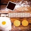 Wypieki - grawerowany wałek do ciasta
